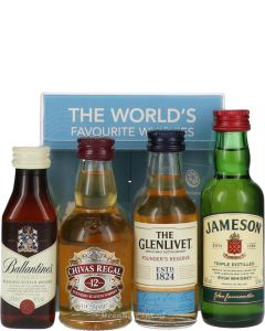 The World's Favourite Whiskies Set