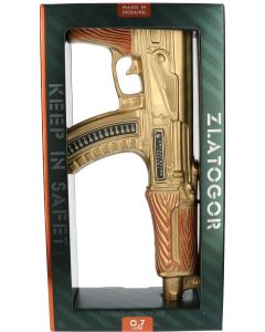 Zlatogor Machine Gun Gold Legendary Vodka